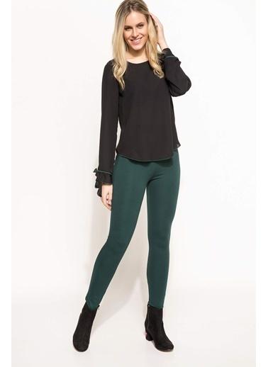 DeFacto Klasik Pantolon Yeşil